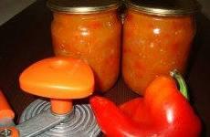 Заготовки из сладкого перца - рецепты