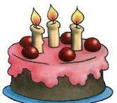 О традиции задувать свечи на торте