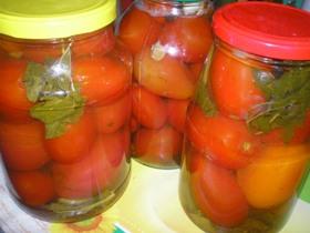 Рецепты вкусных помидоров на зиму