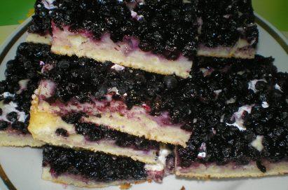торт со свежей черникой рецепт