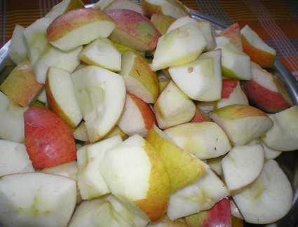 Готовим яблочно-брусничный джем