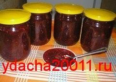 Рецепт яблочно-брусничного джема