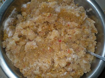 Яблочно-брусничный джем - рецепт с фото