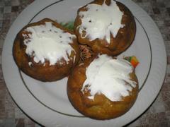 Кексы тыквенные - рецепт приготовления